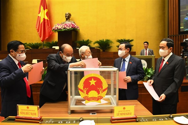 Quốc hội thông qua Nghị quyết phê chuẩn thành viên Hội đồng Quốc phòng An ninh