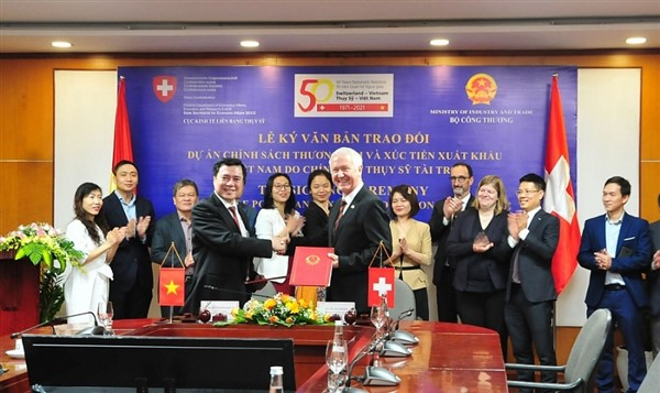 Thụy Sỹ hỗ trợ Việt Nam nâng cao năng lực doanh nghiệp vừa và nhỏ