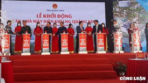 Quảng Ninh: Khởi công bốn dự án trọng điểm, thu hút vốn đầu tư trên 283 nghìn tỷ đồng