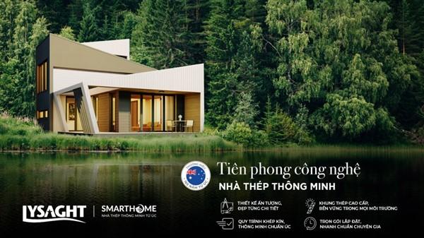 Nhà thép thông minh từ Australia ra mắt thị trường Việt Nam