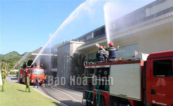 Hòa Bình: Đảm bảo an toàn phòng cháy tại các cơ sở kinh doanh dịch vụ lưu trú du lịch