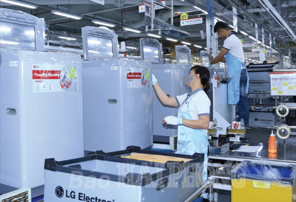 Thu hút vốn đầu tư vào các khu công nghiệp, khu kinh tế: Hải Phòng tiếp tục lập kỳ tích