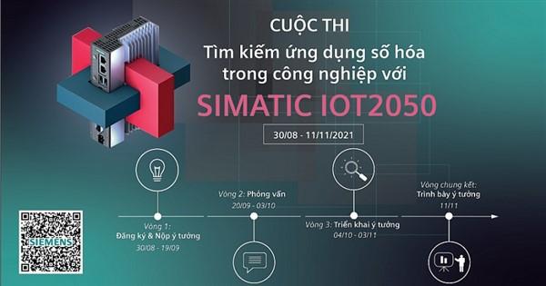 """Cuộc thi """"Tìm kiếm ứng dụng số hóa trong công nghiệp với SIMATIC IOT2050"""""""