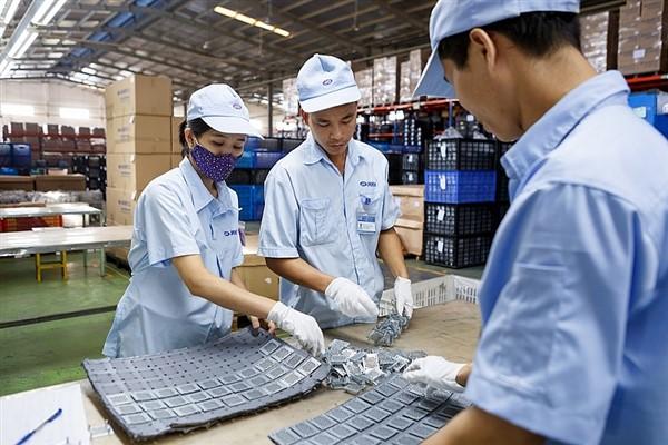 Vĩnh Phúc: Sản xuất công nghiệp 7 tháng đầu năm tăng 17,1%