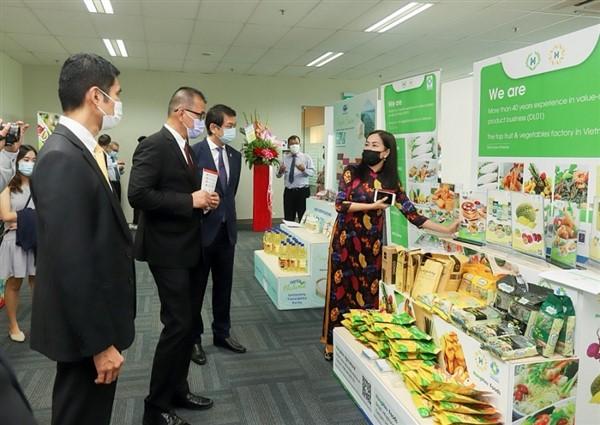 Triển lãm thực phẩm hybrid đầu tiên của Việt Nam tại nước ngoài