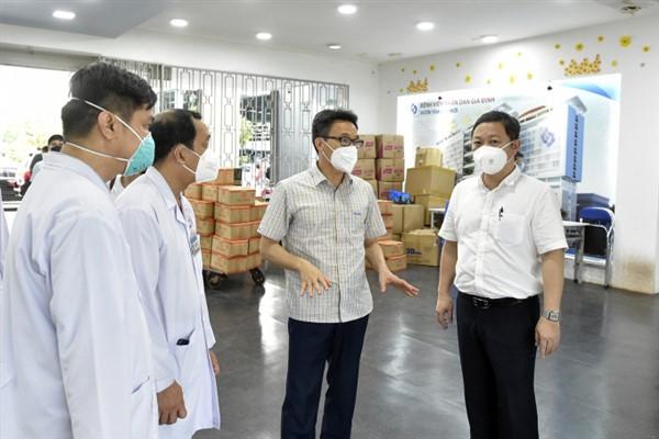 TP Hồ Chí Minh bố trí đủ chỗ tiếp nhận, điều trị bệnh nhân mắc COVID-19 nặng