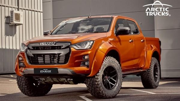 Bán tải Isuzu D-Max trông hầm hố hơn sau khi sở hữu gói độ của hãng Arctic Trucks