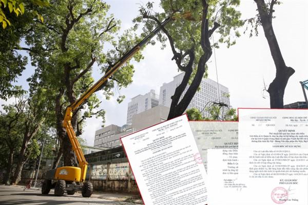 Công ty Công viên cây xanh một ngày trúng hơn 1800 tỷ đồng tại Sở Xây dựng Hà Nội
