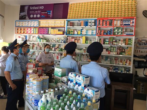 Cục QLTT Quảng Trị tăng cường công tác kiểm soát hàng hóa thiết yếu phòng, chống dịch Covid-19
