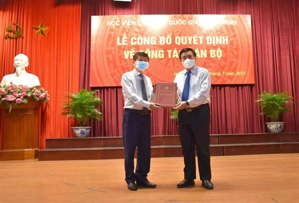 PGS.TS Phạm Minh Sơn được bổ nhiệm làm Giám đốc Học viện Báo chí và Tuyên truyền