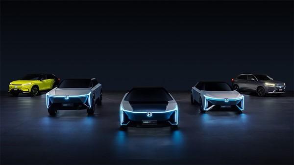 Honda giới thiệu 5 mẫu ôtô điện mới