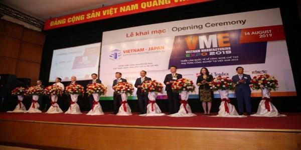 Khai mạc Triển lãm Quốc tế về Máy móc và Công nghệ ngành Công nghiệp Chế tạo và Công nghiệp hỗ trợ tại Hà Nội