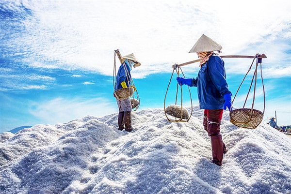 Khánh Hòa: Nâng cao giá trị hạt muối