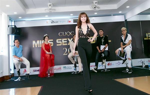 Na Mèo tham gia cuộc thi Miss Sexy Model 2018