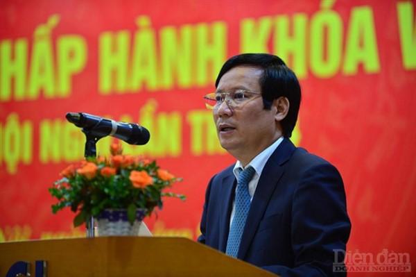 Ông Phạm Tấn Công giữ chức Chủ tịch VCCI thay ông Vũ Tiến Lộc