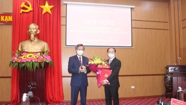 Phó Chánh văn phòng Trung ương Đảng làm Chủ tịch tỉnh Bắc Kạn
