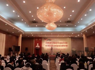 Lễ công bố và trao quyết định bổ nhiệm các chức danh Lãnh đạo chủ chốt Hà Nội