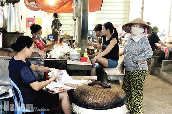 Hà Nam: Thực hiện nghiêm quy định phòng, chống dịch tại các chợ