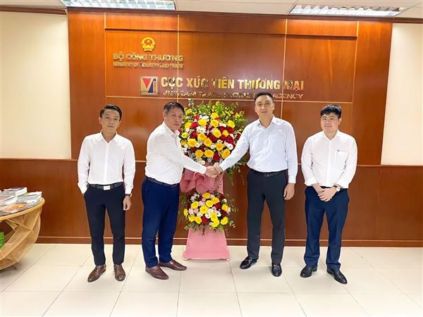 Thị trường Việt Nam chúc mừng Cục XTTM - Bộ Công Thương nhân dịp 21 năm ngày thành lập