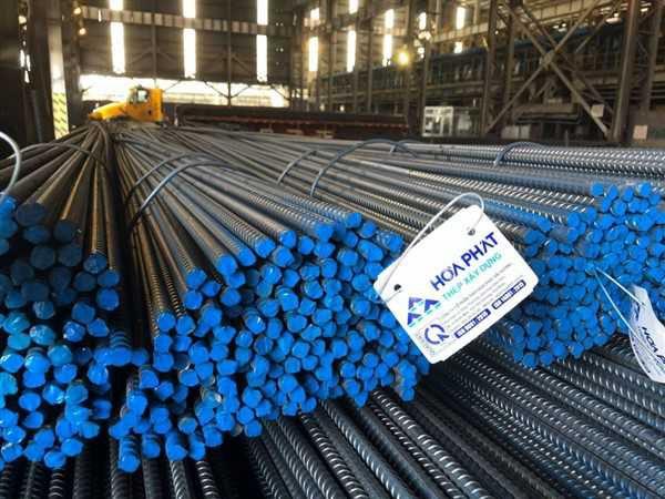 Sản lượng bán hàng các loại thép của Hòa Phát đạt 690.000 tấn trong tháng 8